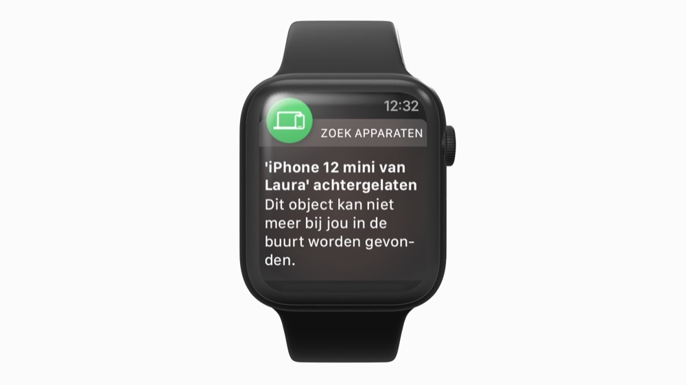 separation alert op Apple Watch