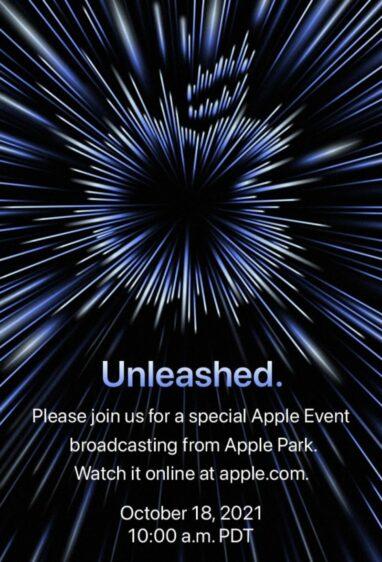 Apple oktober event 2021