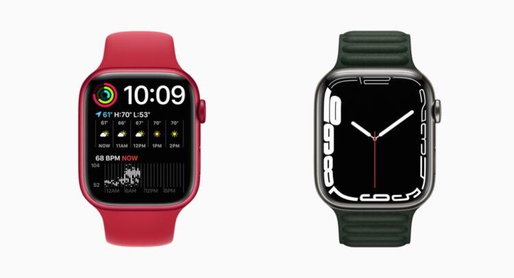 Apple Watch Series 7 wijzerplaten