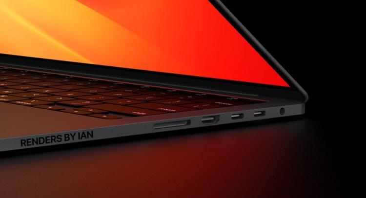 MacBook Pro 2021 aansluitingen