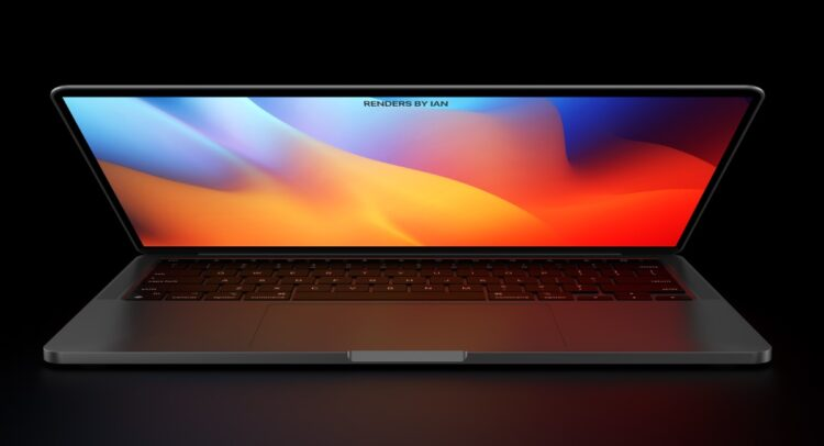 MacBook Pro 2021 ontwerp